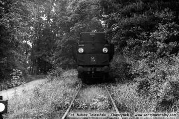 Ty2-934 na stacji Namysłaki w dniu 28.05.1988. Był to ostatni planowy pociąg pasażerski.