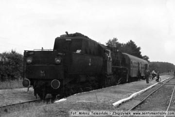 Ty2 - 202 w Trzcielu w dniu 01.09.1986.