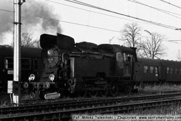 Tkt48-74 do Międzyrzecza w dniu 12.11.1986.