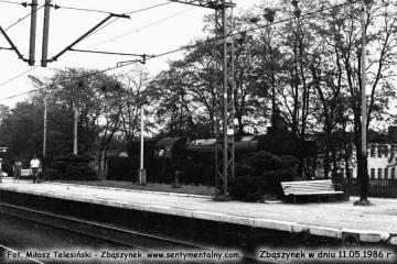 Ty2-393 na stacji w Zbąszynku w dniu 11.05.1986.