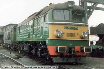 Chojnice 18.06.1988, ST44-1105