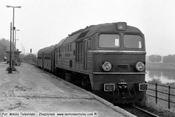 Gorzów Wlkp. 22.09.1987, ST44-102 z osobowym do Myśliborza.