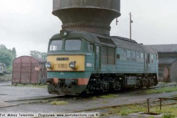 Olsztyn 17.06.1988. ST44-190.