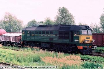 Zbąszynek w lipcu 1991, ST44-787.