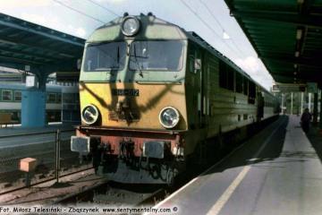 SU46-012 na stacji Olsztyn 18.06.199