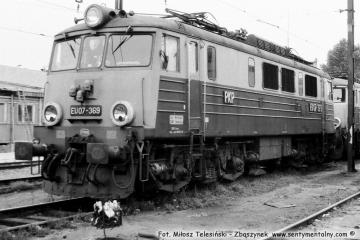 Warszawa Olszynka Grochowska 14.08.1991 EU07-369