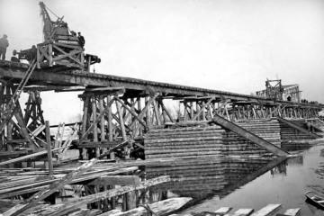 Włodawa 1915 - odbudowa.