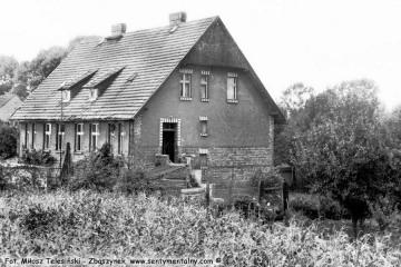 Płonica - Bolemin 04.09.1986. Mieszkanie zawiadowcy Pana Matyjaszczyka.