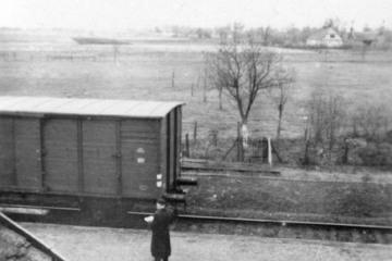 Płonica - Bolemin około 1960 roku.