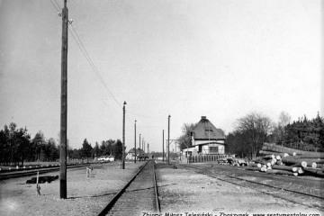 Rudnica około 1957 roku.
