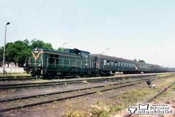 Bełżec pociąg do Przeworska 20.06.1992