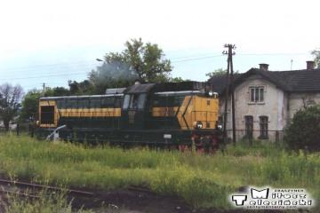 Bełżec 27.06.1992. Lokomotywa SP32-068.