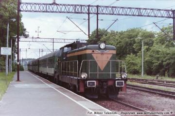 Czerwonka 17.06.1993. Pociąg do Lidzbarka.