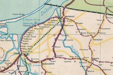Mapka z 1949 r.