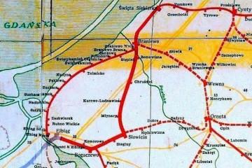 Mapka z 1945 r.