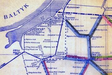 Mapka z 1950 r.