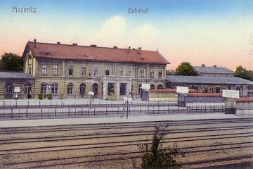 Dworzec do 1945 roku