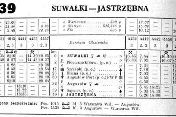 Suwałki - Jastrzębna lato 1951