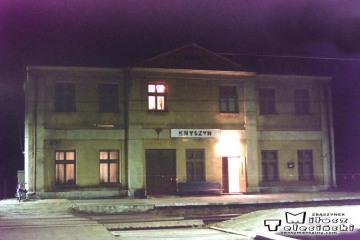 Knyszyn 22.11.1994. Jako dyżurny Ruchu miał służbę Jacek Somojło.
