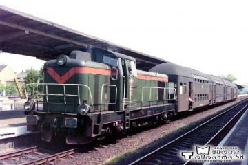 Gorzów Wlkp. Osobowy Kostrzyn - Krzyż Nr. pociągu 1133