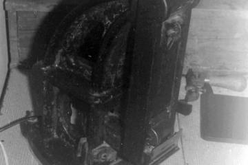 Komposter w Kowalach Oleckich 16.09.1990.