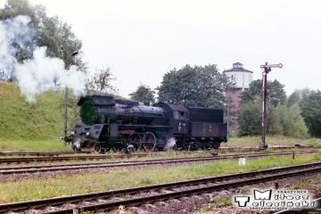 Ol49-7 na stacji Olecko w dniu 14.09.1990.