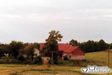 Między Olsztynem a Ełkiem w czerwcu 1993.
