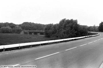 Międzychód, szosa doi Drezdenka 04.06.1987.