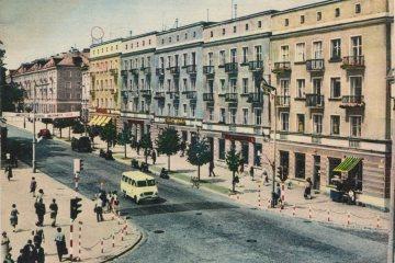 Białystok w 1971 roku.