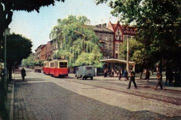Gorzów Wlkp. w 1968 roku.