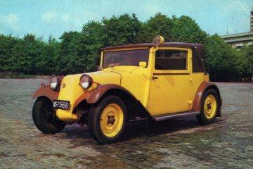 Czechosłowacka seria z samochodami