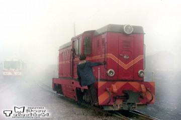 Lwówek Wąskotorowy w dniu 09.02.1989.