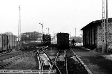Lwówek Wąskotorowy w dniu 14.03.1987.