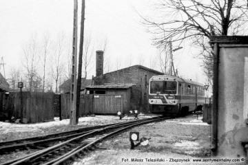Trzcianka Zachodnia w dniu 08.02.1987.