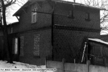 Trzcianka Zachodnia w dniu 04.03.1986