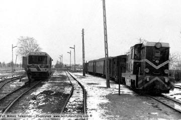Trzcianka Zachodnia w dniu 08.02.1987