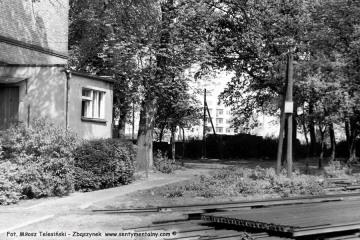 Opalenica wiosną 1986. Miejsce pod planowany skansen.