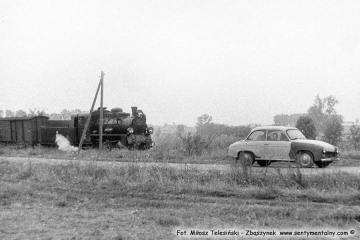 Pociąg specjalny w dniu 13.09.1986 w Brodach.