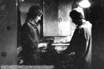 Opalenica, na warsztacie w dniu 07.08.1986.