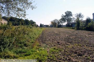 Duszniki Wlkp 01.10.2017. miejsce po zburzonej w 1986 roku lokomotywowni.
