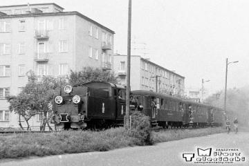 W dniu otwarcia Muzeum Kolei Wąskotorowej w Sochaczewskie 06.09.1986.