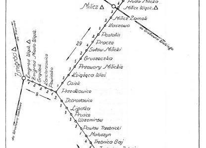 Plan kolejki Wrocławskiej