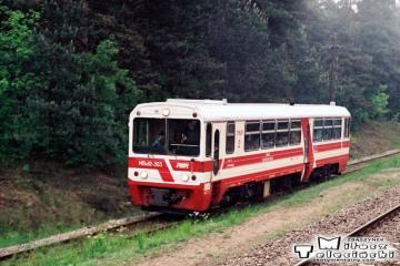 Moczyłki, przed wjazdem do Białogardu. 07.06.1991.