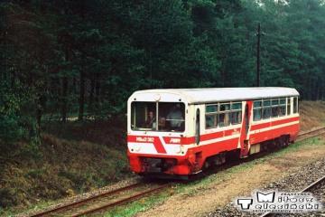 Moczyłki, przed wjazdem do Białogardu. Maj 1991.