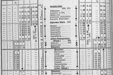 Rozkład z 1946 roku