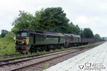 Hrubieszów 25.06.1992. Pierwsza ST44-2013.