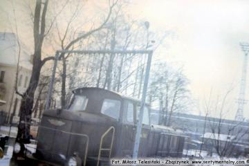 Gorlice w lutym 1986.