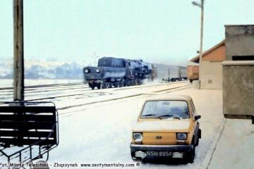 Gorlice Zagórzany w lutym 1986.