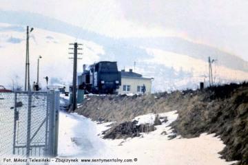Muszyna w lutym 1986.