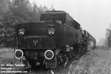 Na szlaku Dobrodzień - Fosowskie 17.10.1987.
